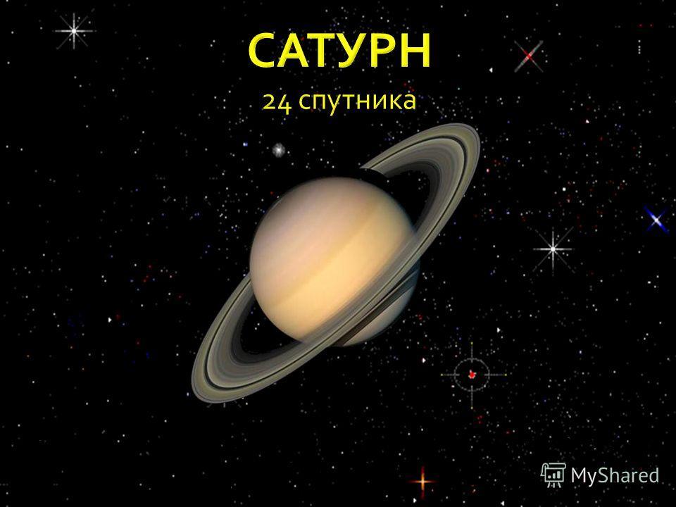 Эта планета окружена 7 кольцами, состоящими из отдельных частиц и пыли. Сутки составляют около 10ч 15мин. Температура поверхности планеты около - 170 градусов