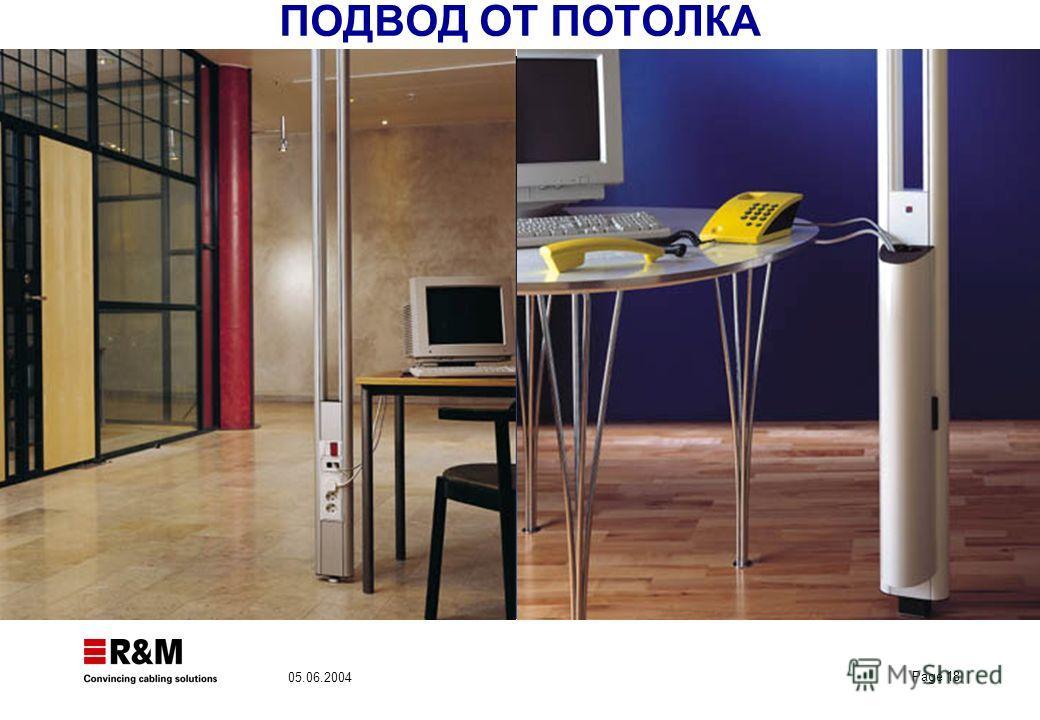 Page 18 05.06.2004 ПОДВОД ОТ ПОТОЛКА