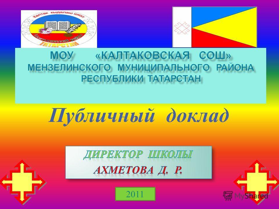 2011 Публичный доклад