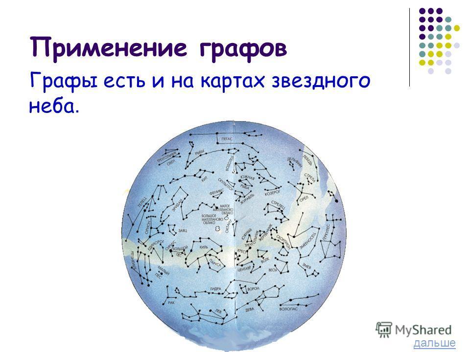 Графы есть и на картах звездного неба. дальше