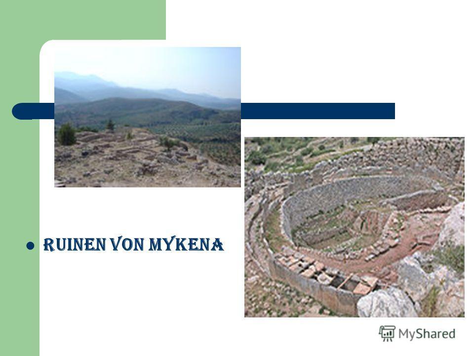 Ruinen von Mykena
