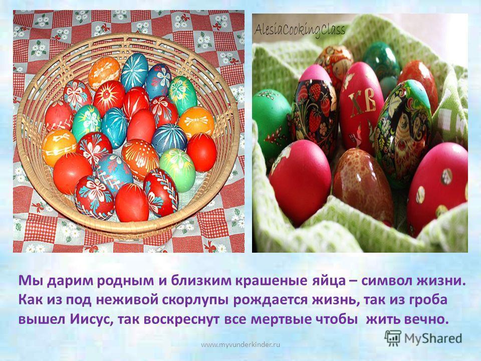 Зачем мы красим яйца Мария Магдалина пришла к Кесарю и сказала