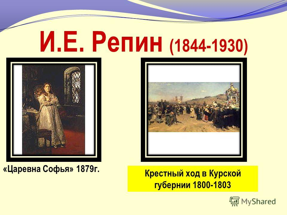 ЖИВОПИСЬ Основным направлением был критический реализм. В.Г. Перов (1834-1882) «Проводы покойника» 1865 г. Сельский крестный ход на Пасхе 1861 г.