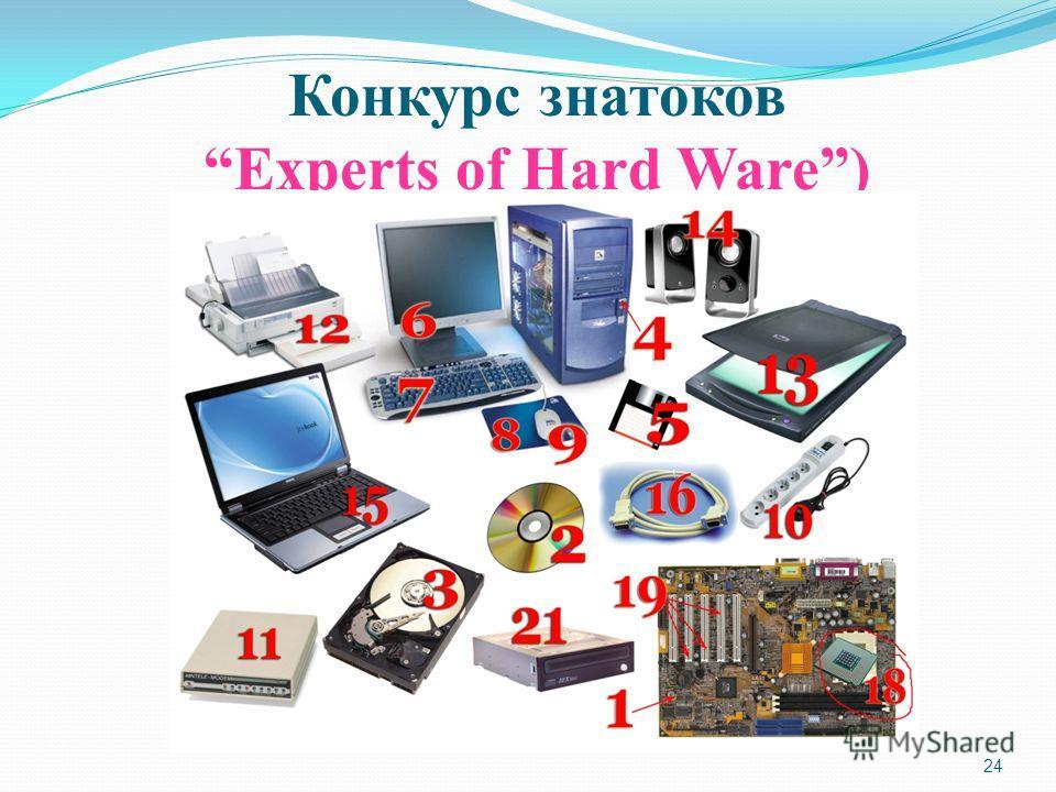 24 Конкурс знатоков Experts of Hard Ware)