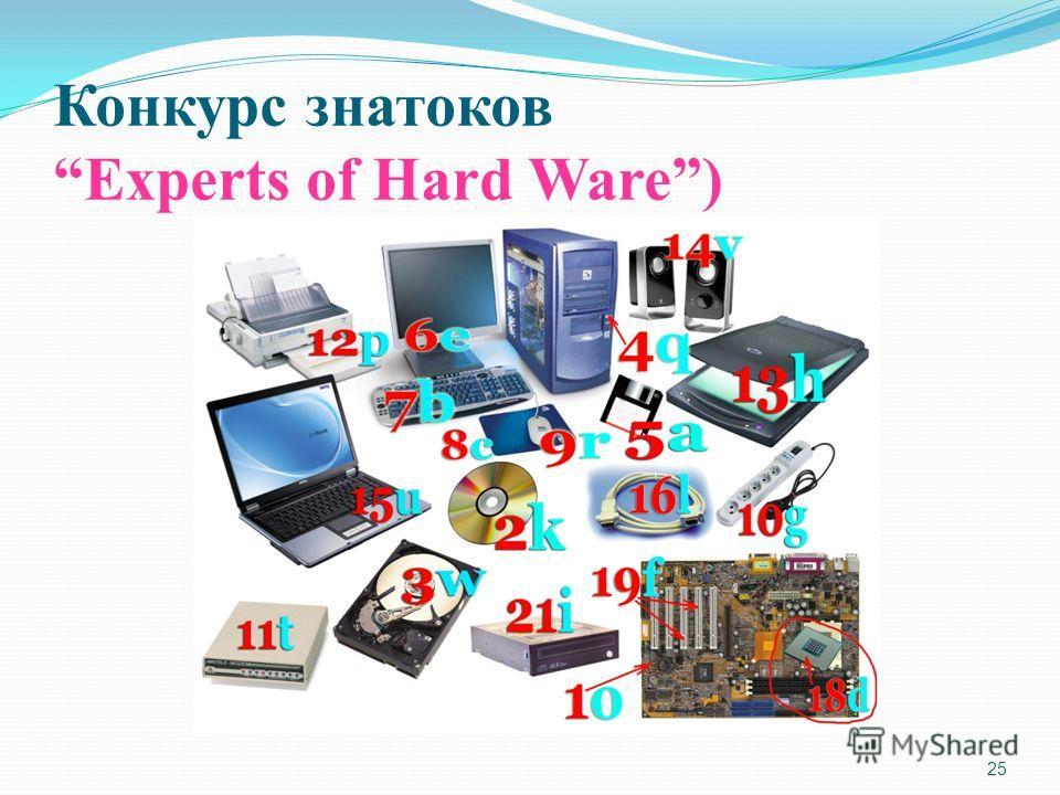 25 Конкурс знатоков Experts of Hard Ware)