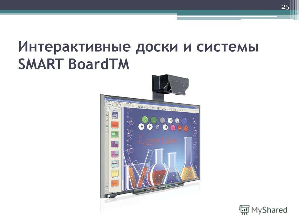 Интерактивные доски и системы SMART BoardTM 25