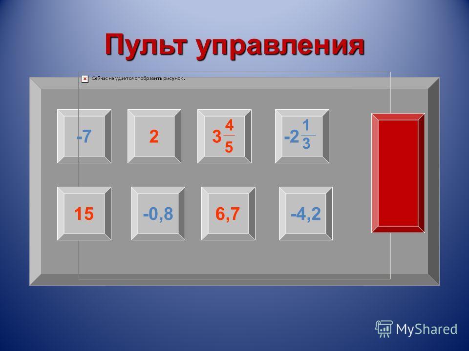 Пульт управления -723-2 4 5 1 3 15-0,86,7-4,2