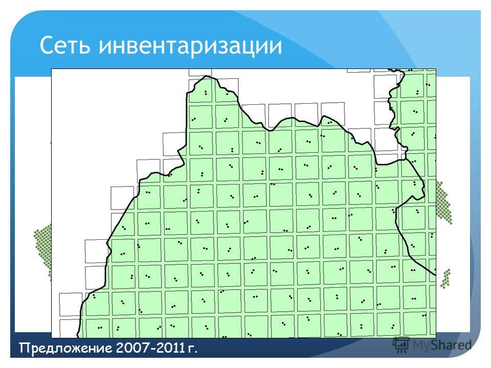 Сеть инвентаризации Предложение 2007-2011 г.