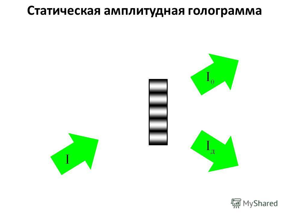 Статическая амплитудная голограмма