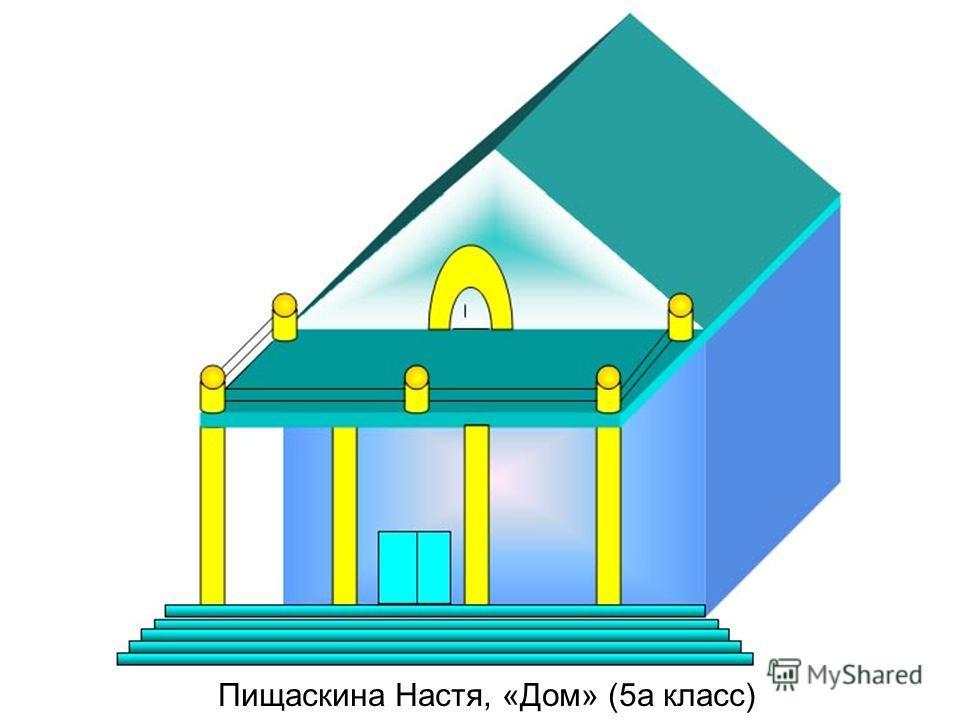 Пищаскина Настя, «Дом» (5а класс)