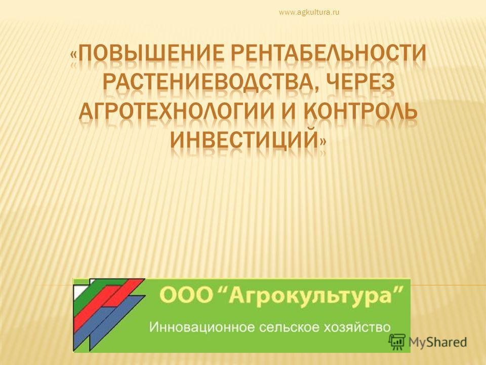 www.agkultura.ru