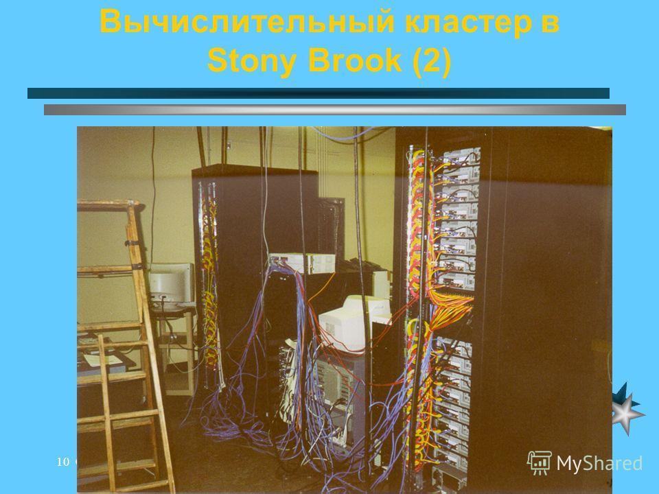 Andrei.Chevel@pnpi.spb.ru10 October 2000 Вычислительный кластер в Stony Brook (2)