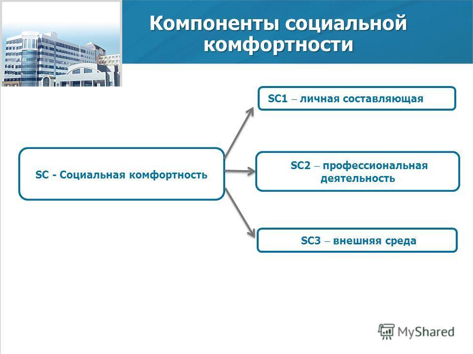 www.economy.gov.ru 3 Министерство экономического развития Российской Федерации Компоненты социальной комфортности SC - Социальная комфортность SC1 личная составляющая SC2 профессиональная деятельность SC3 внешняя среда