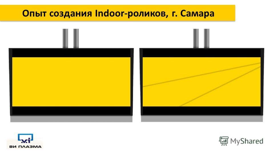 Опыт создания Indoor-роликов, г. Самара