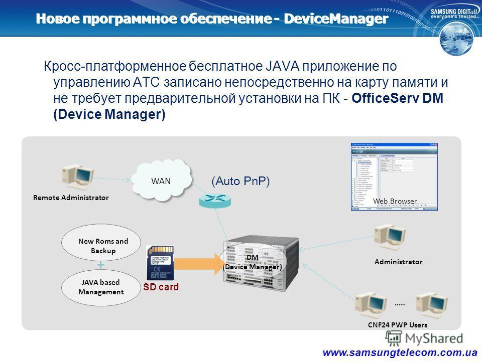 2.2.2.2. Новый функционал V 4.60 www.samsungtelecom.com.ua