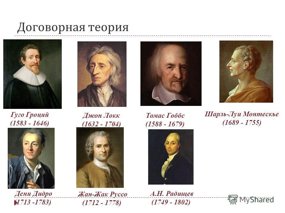 Автор Первой Договорной Теории Происхождения Государства