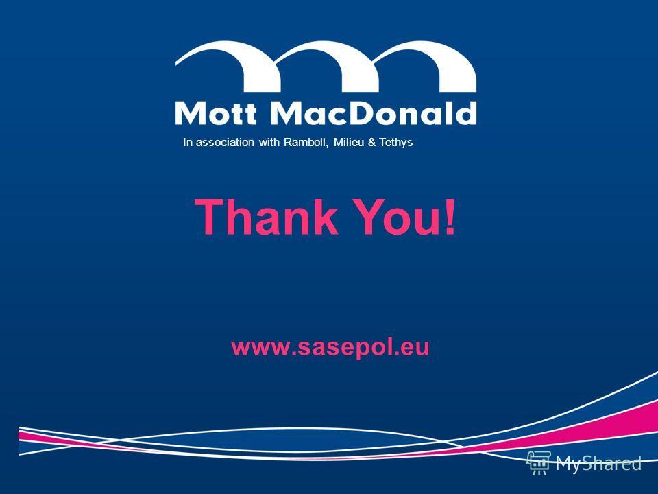 www.sasepol.eu In association with Ramboll, Milieu & Tethys Thank You!