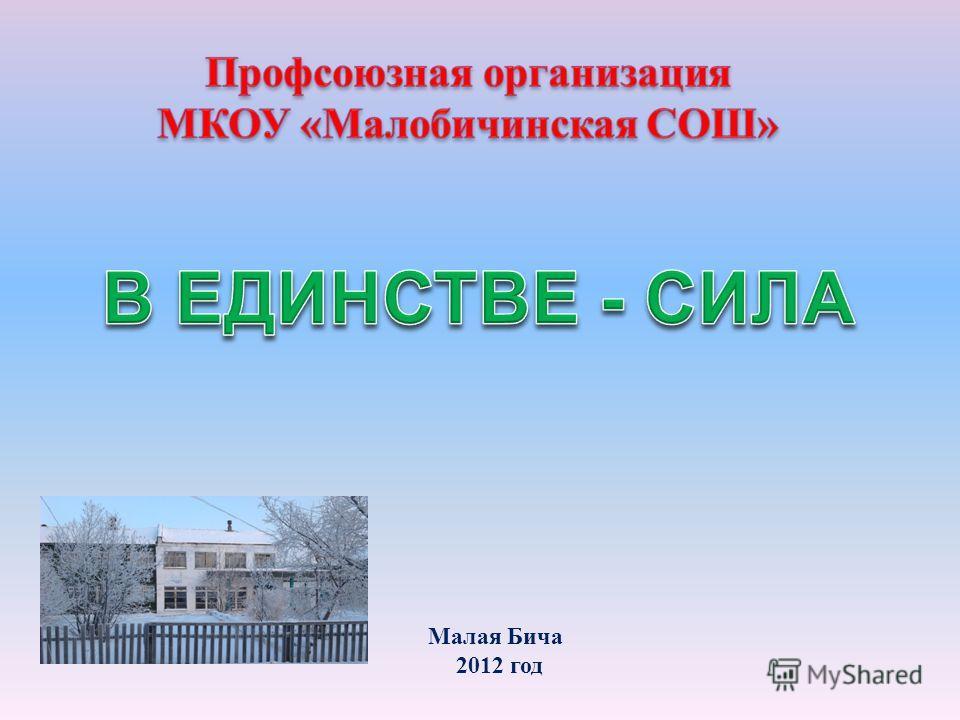 Малая Бича 2012 год