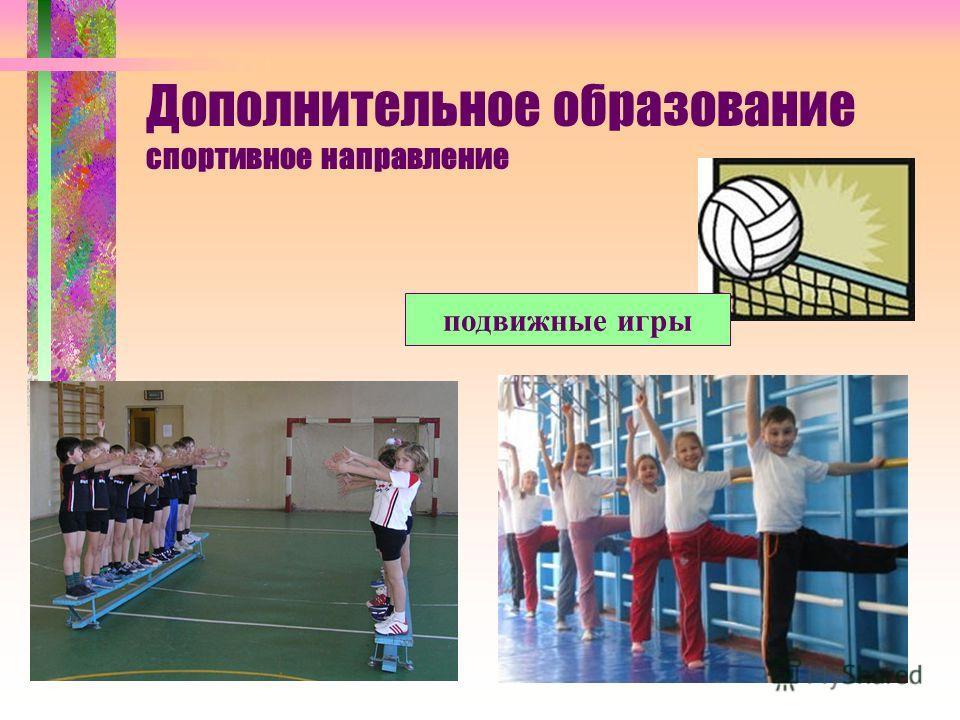 Дополнительное образование спортивное направление подвижные игры