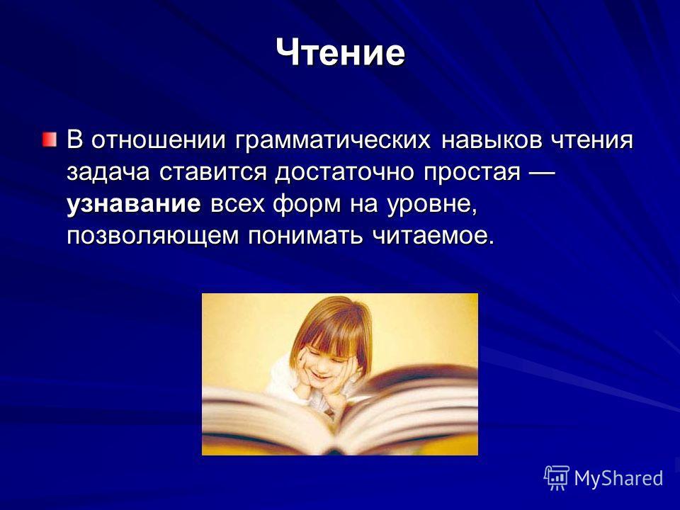 ЧтениеАудированиеПисьмоГоворение