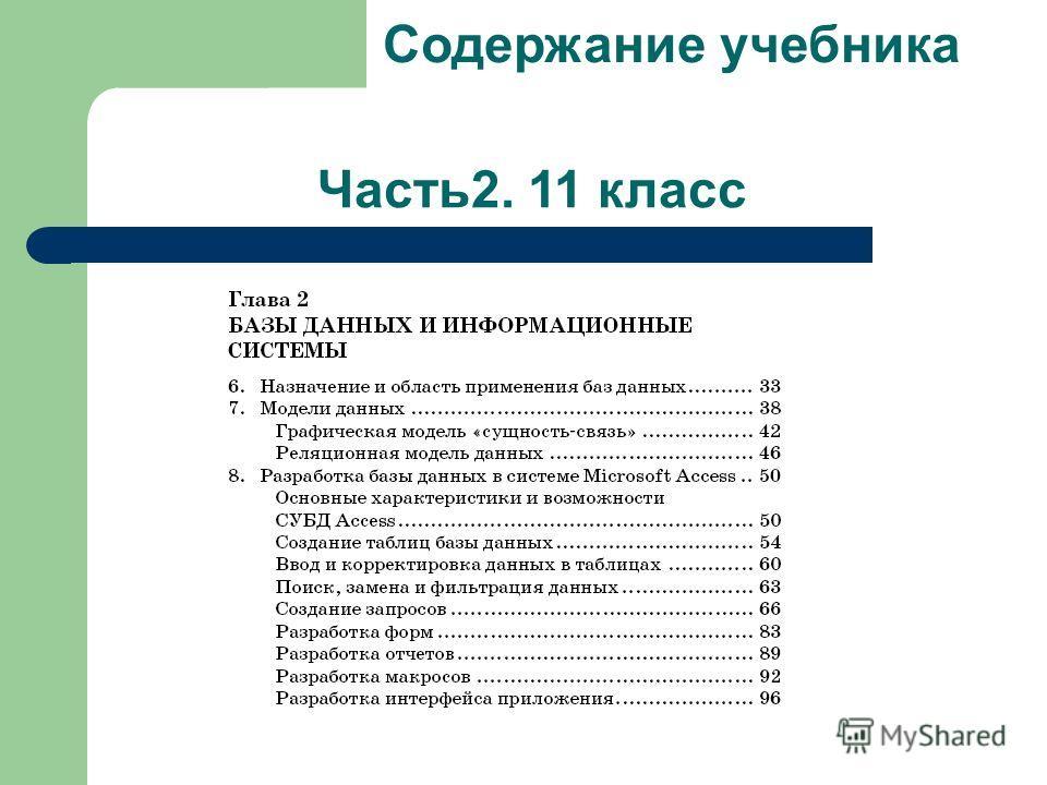 Часть2. 11 класс