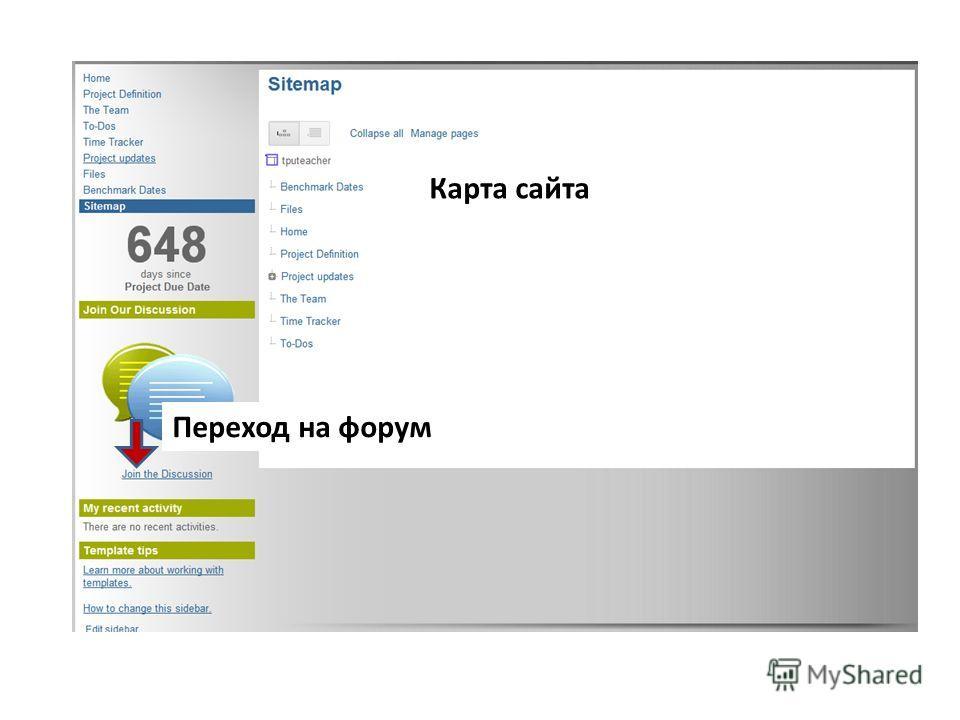 Карта сайта Переход на форум
