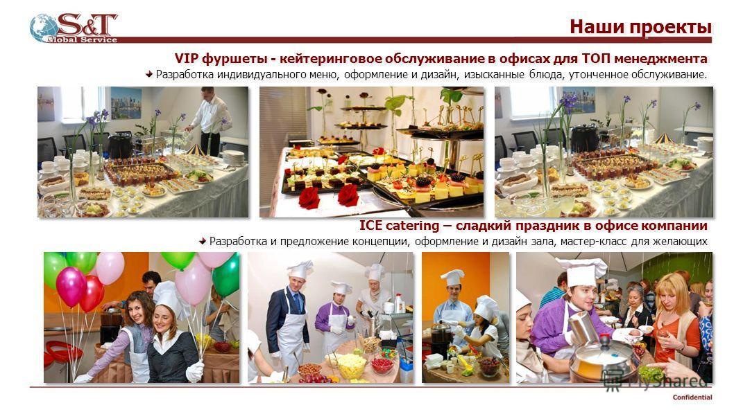 Confidential Наши проекты Организация поздравления сотрудников компании в офисе (8 марта): Кейтеринговое обслуживание, мобильный бар, артисты оригинального жанра, музыкальное и танцевальное сопровождение, цветы, декор шарами, дополнительные аксессуар