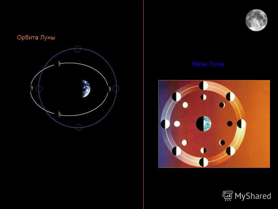 Орбита Луны. Фазы Луны. Орбита Луны Фазы Луны