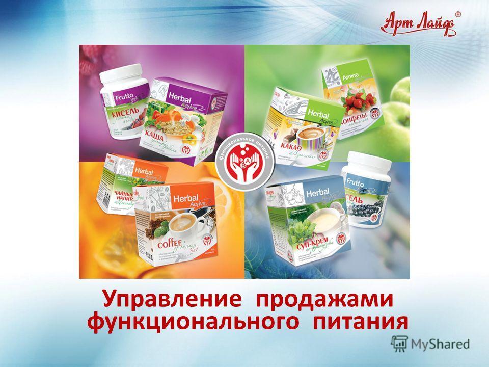 11 Управление продажами функционального питания