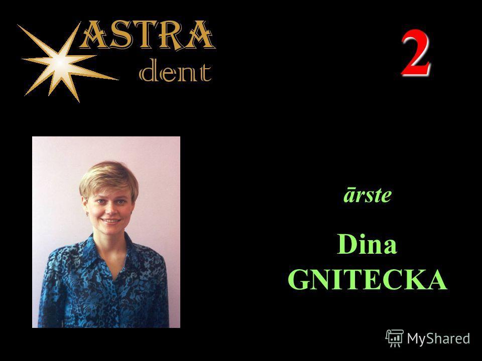 2 ārste Dina GNITECKA