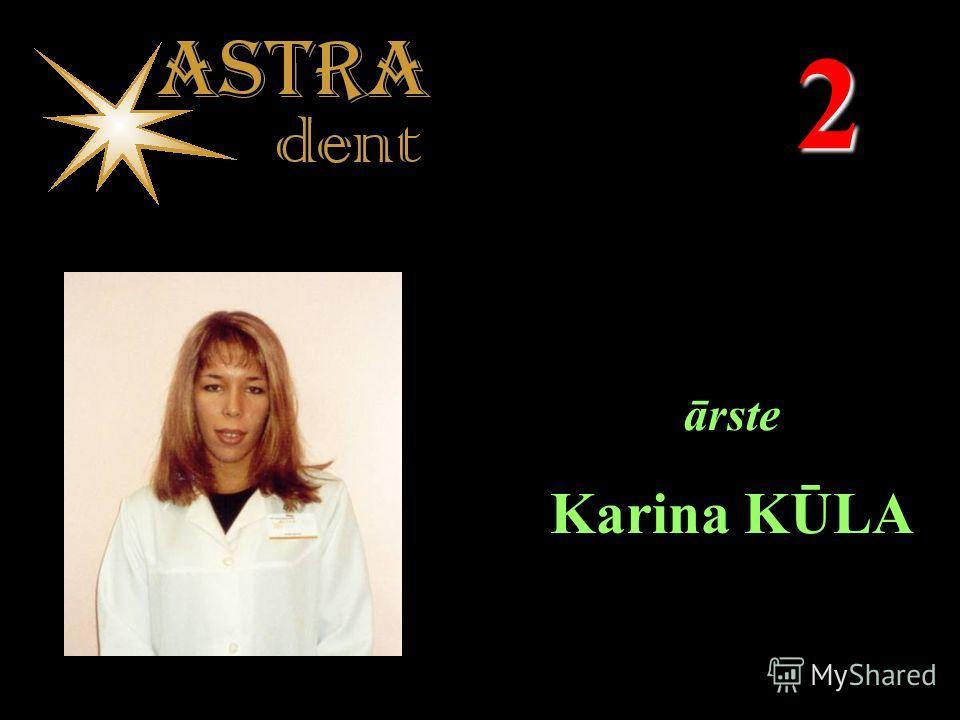 2 ārste Karina KŪLA