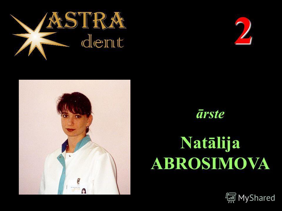 2 ārste Natālija ABROSIMOVA