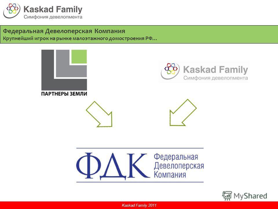 Федеральная Девелоперская Компания Крупнейший игрок на рынке малоэтажного домостроения РФ…