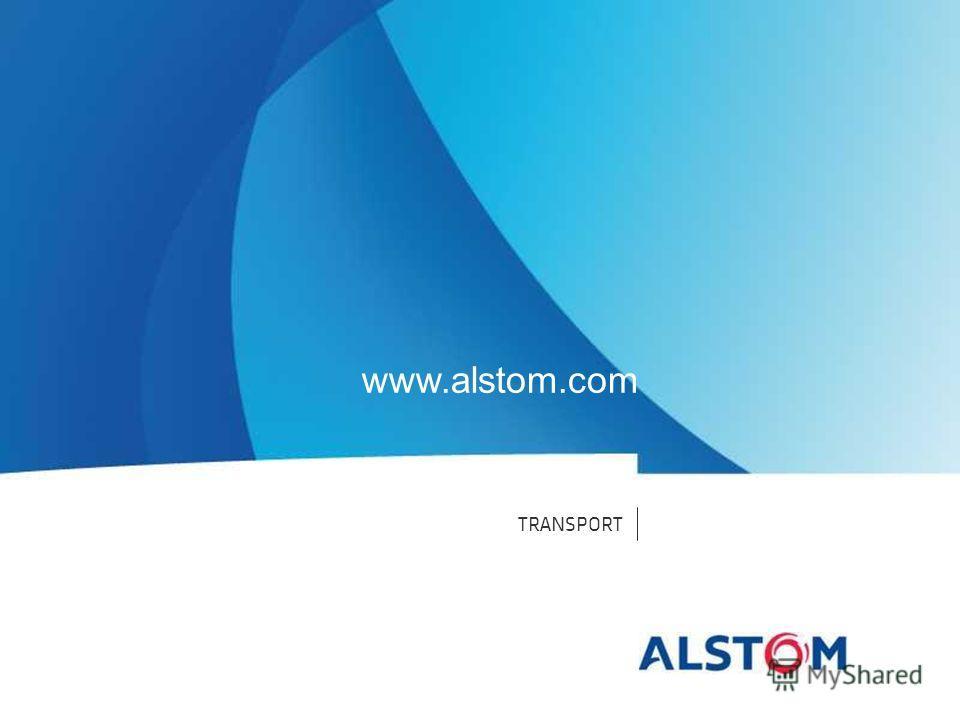 TRANSPORT www.alstom.com