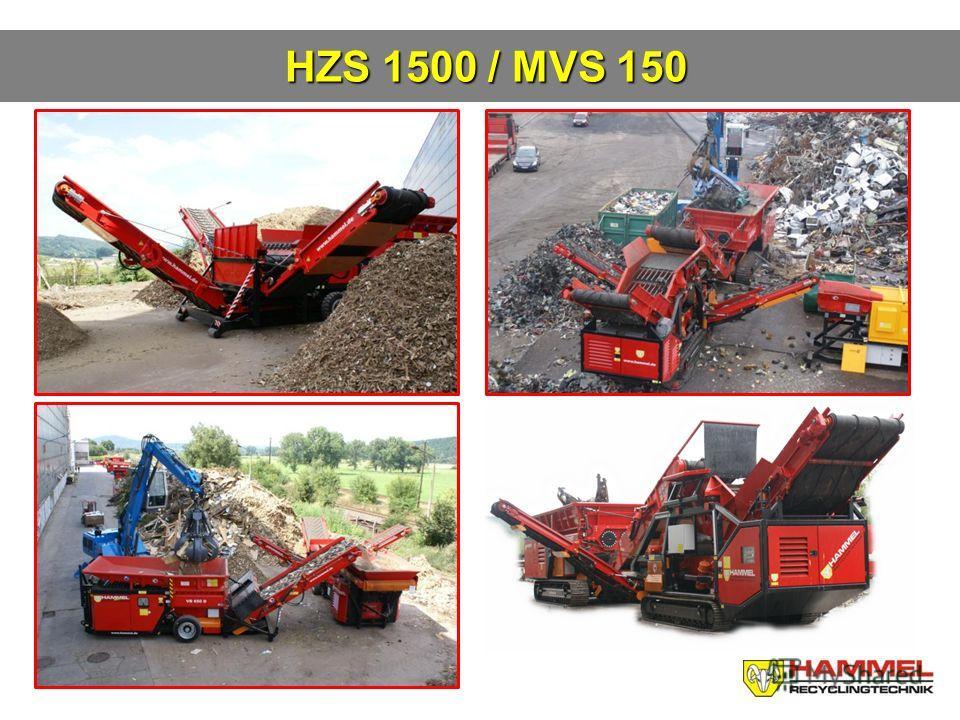 HZS 1500 / MVS 150 HZS 1500 / MVS 150