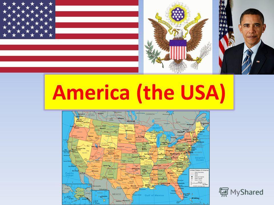 America (the USA)