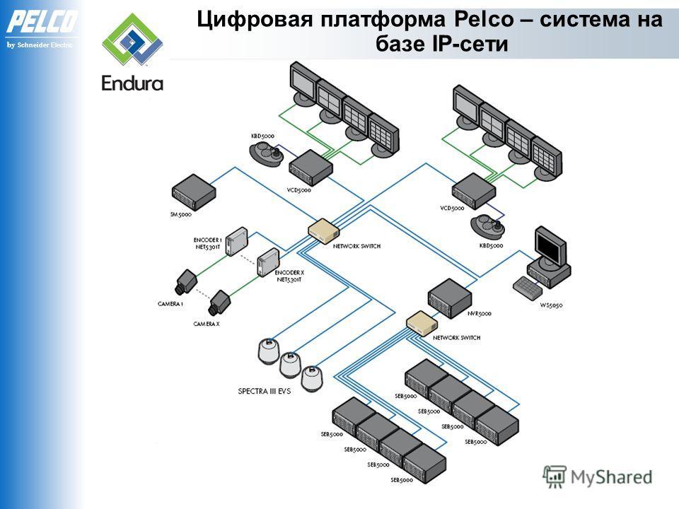by Schneider Electric Цифровая платформа Pelco – система на базе IP-сети