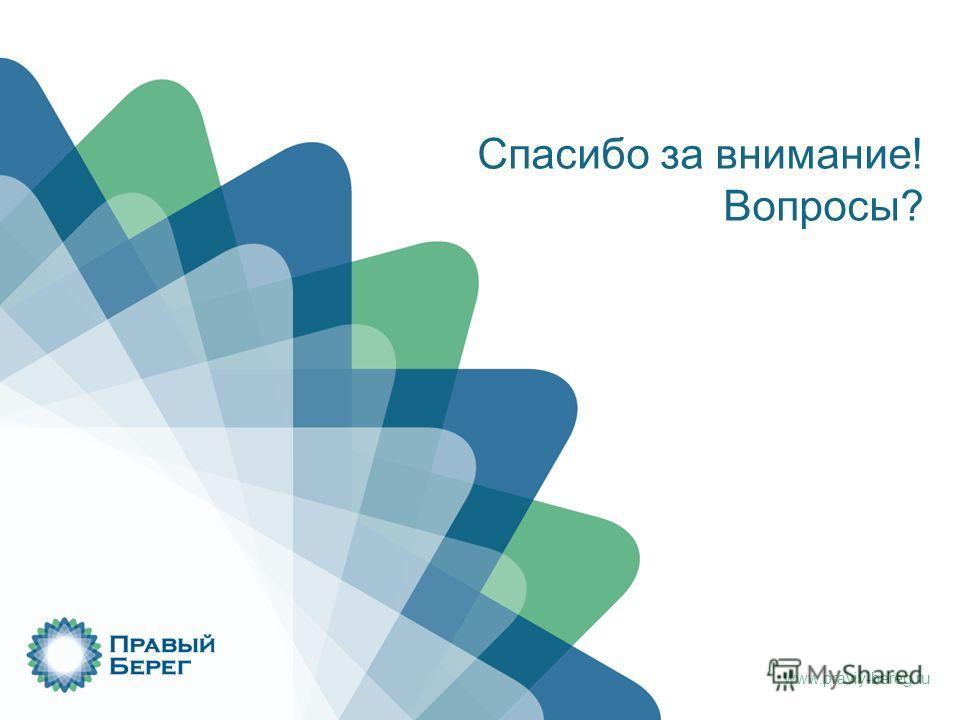 www.praviy-bereg.ru Спасибо за внимание! Вопросы?
