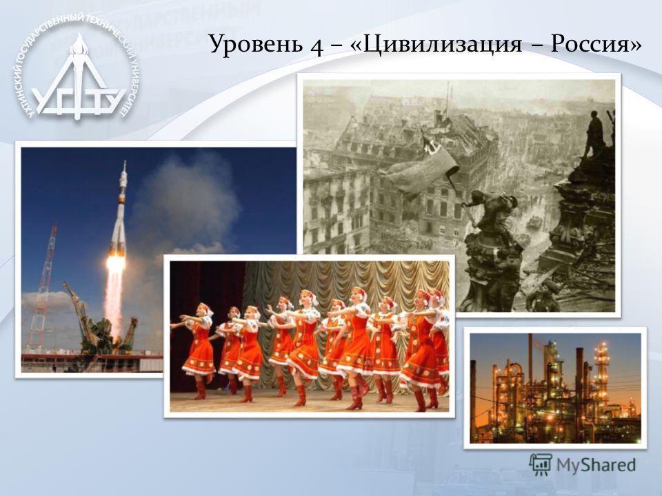 Уровень 4 – «Цивилизация – Россия»
