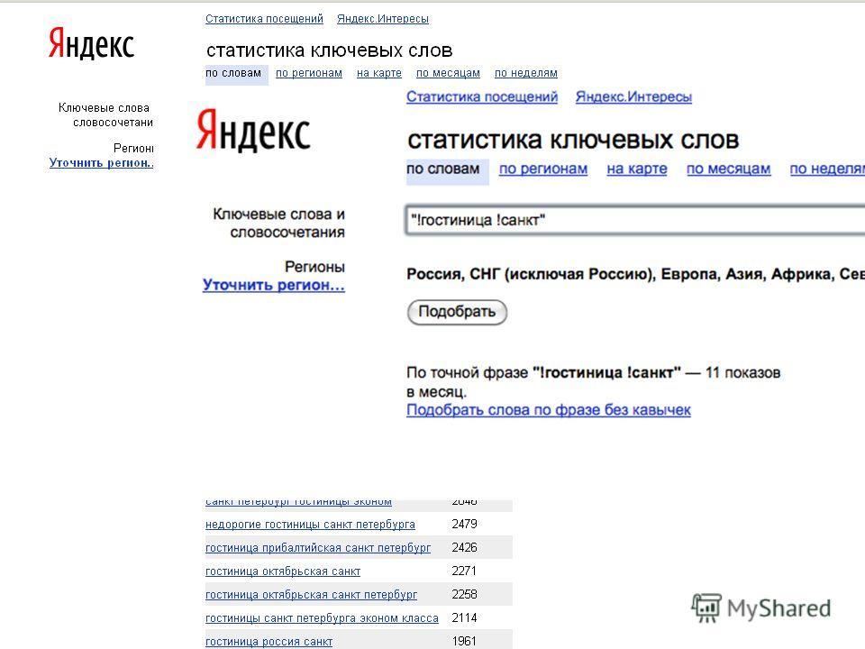 Несуществующие запросы Гостиница санкт WS = 94513! 30
