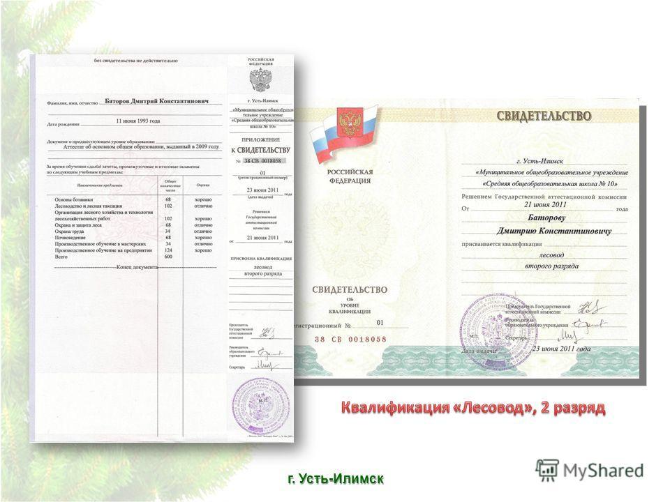 г. Усть-Илимск