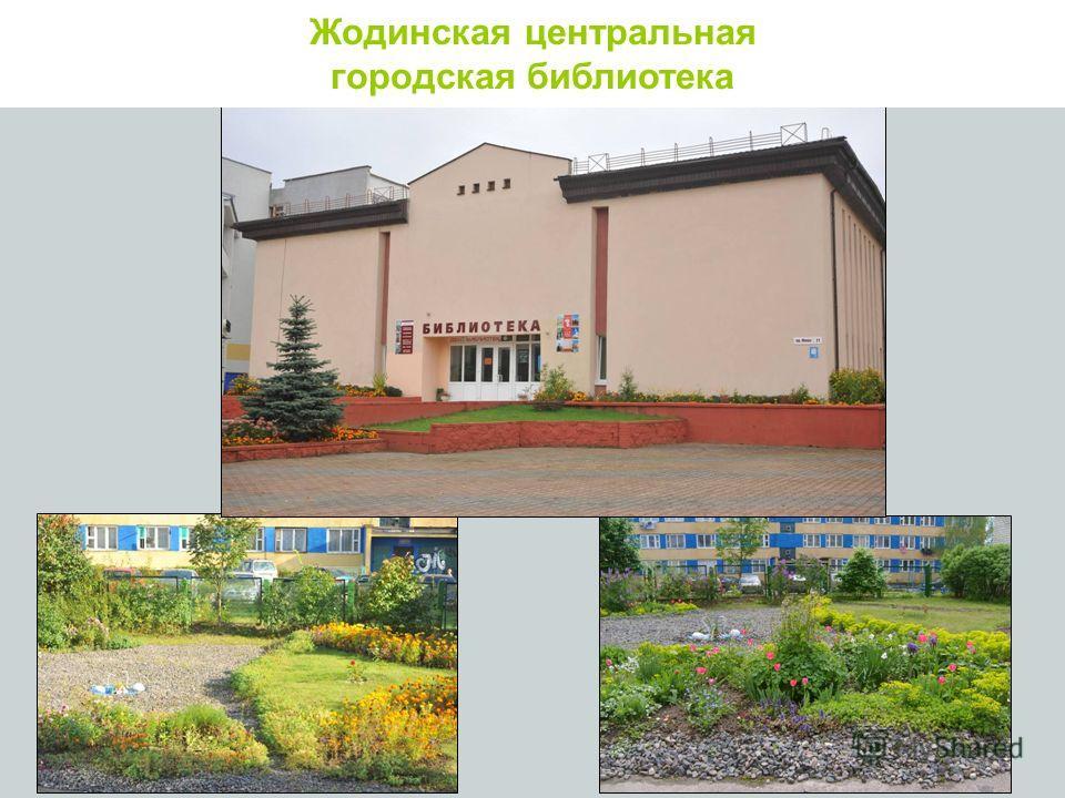 Жодинская городская библиотека Жодинская центральная городская библиотека