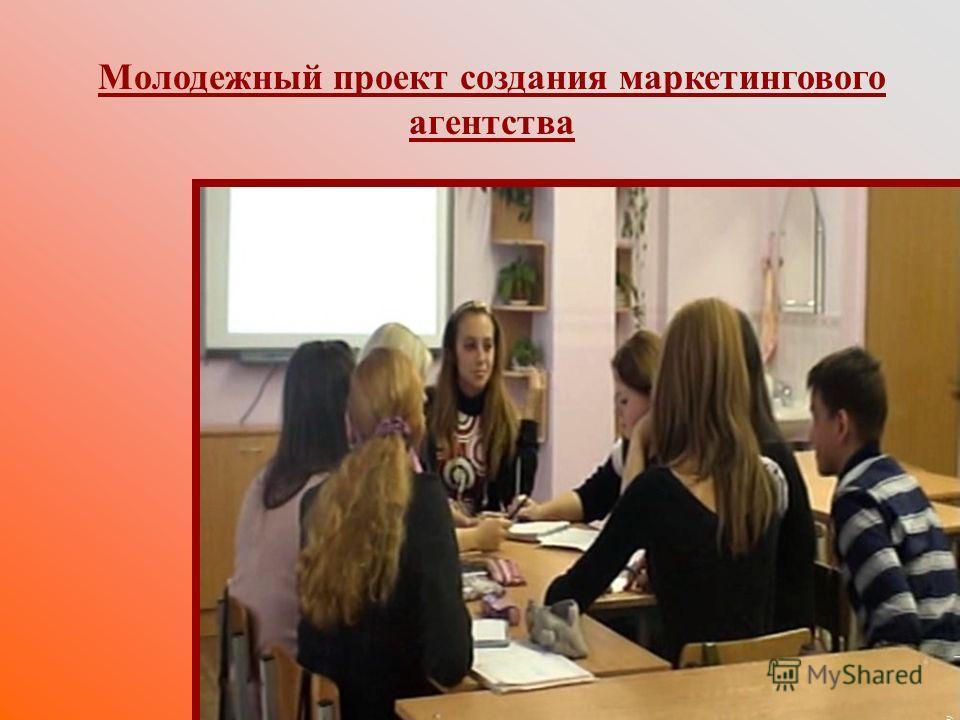 Молодежный проект создания маркетингового агентства