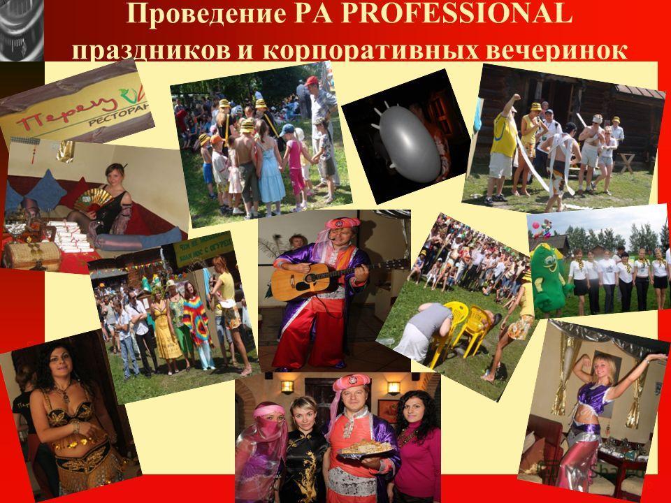 www.themegallery.com Company Logo Опыт РА PROFESSIONAL в ПРОМО-АКЦИЯХ