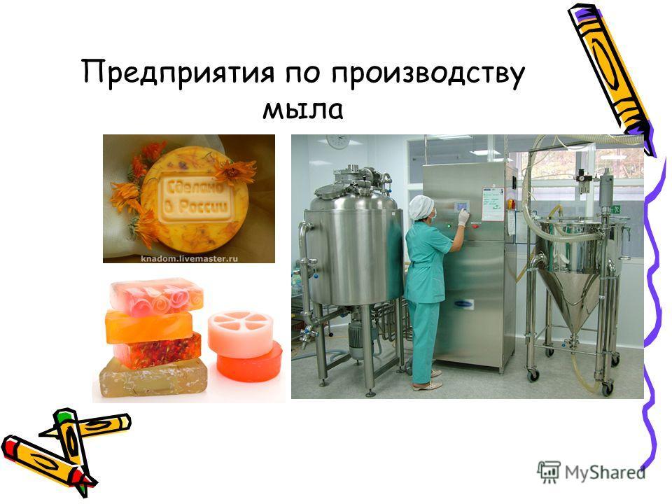 Предприятия по производству мыла