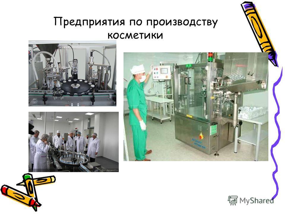 Предприятия по производству косметики