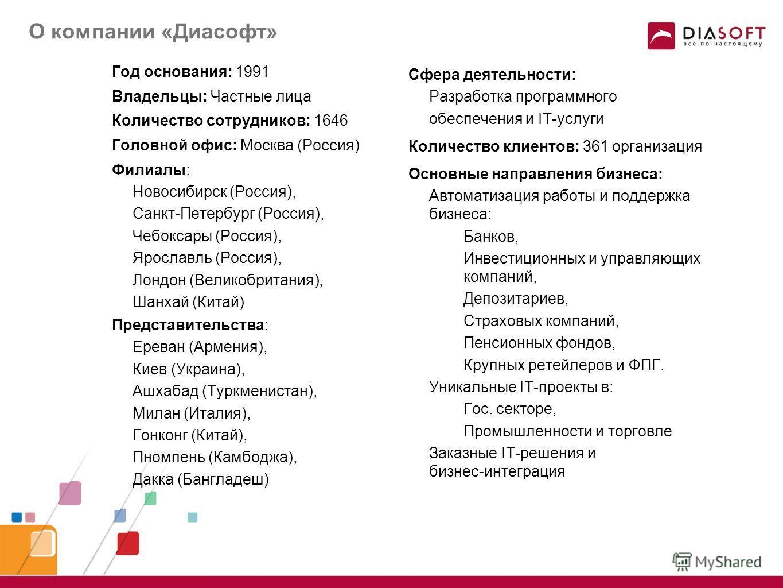 Презентация платформы FLEXTERA Framework и условий партнерской программы Константин Варов Директор Департамента Департамент Развития Платформы FLEXTERA Компания «Диасофт»