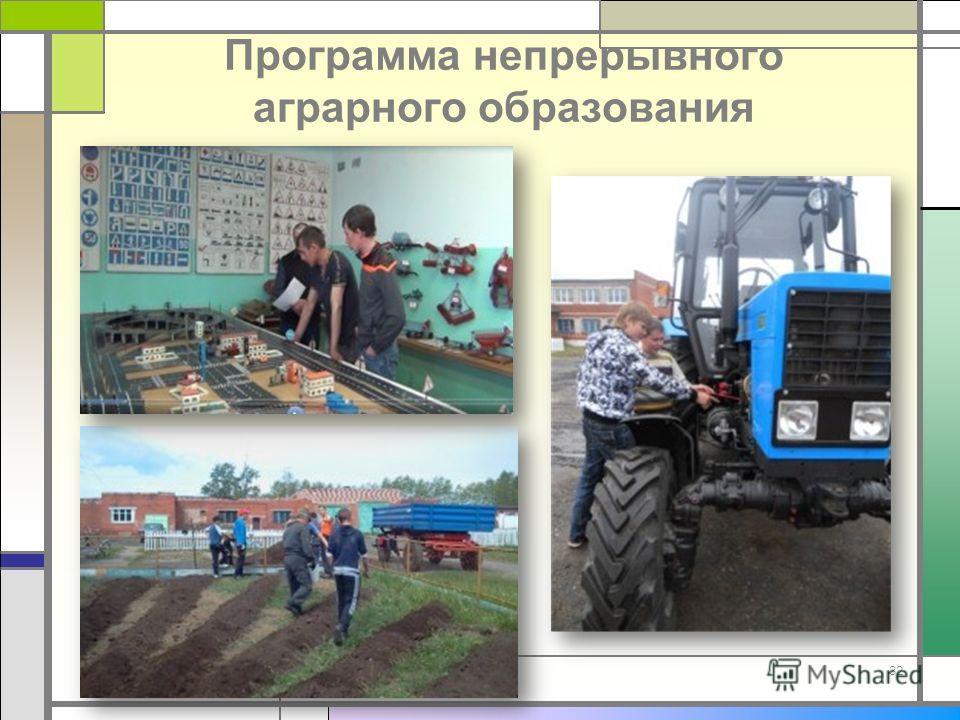 Программа непрерывного аграрного образования 32