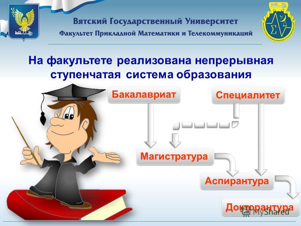 Наш университет является единственным вузом Кировской области, готовящим специалистов по телекоммуникациям и информационной безопасности