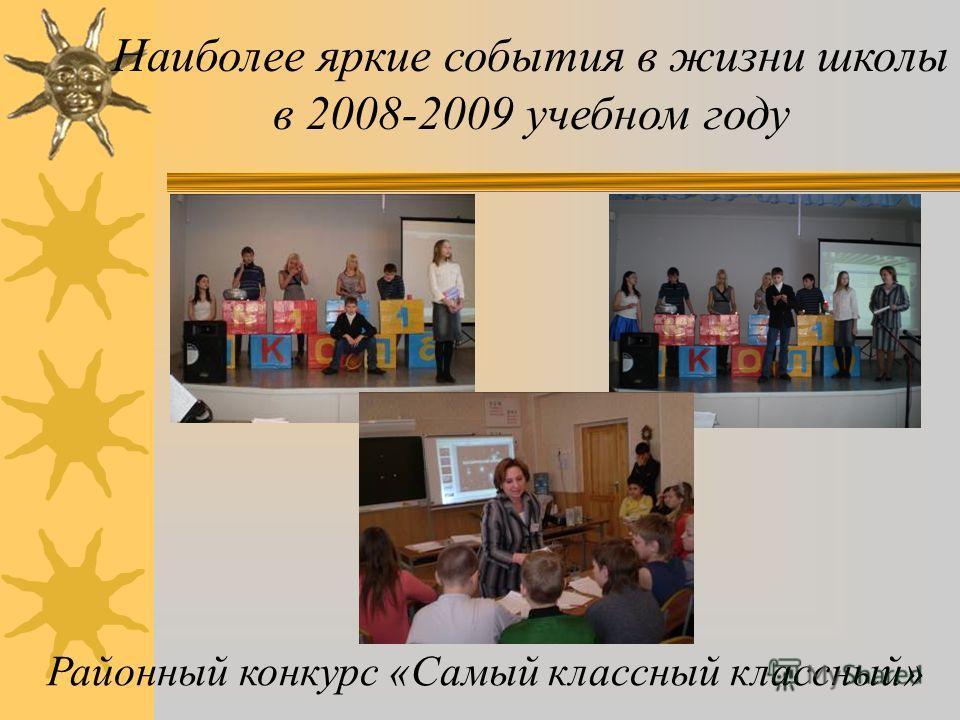 Наиболее яркие события в жизни школы в 2008-2009 учебном году Встреча с капитаном Российской армии